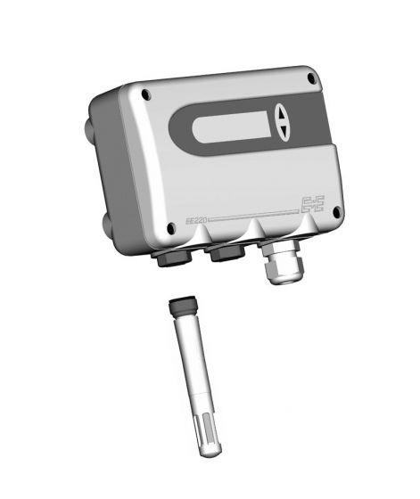 Sensore umidità settore alimentare EE220 opt.2