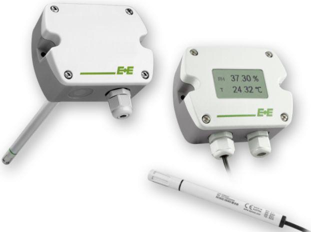 Sensore di umidità e temperatura di precisione 03-EE210-420MA-C-DL