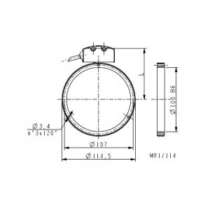 Anello magnetico foro 100mm MRI_114-72-5-100