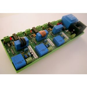 Sonda corrente/tensione trifase con neutro 035V005A con alimentatore