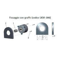 Graffe di fissaggio 18-PGF-10