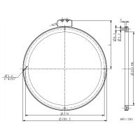 Anello magnetico foro 250mm MRI_284-180-5-250