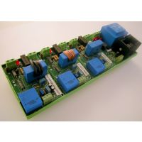 Sonda corrente/tensione trifase con neutro 500V025A con alimentatore